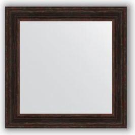Зеркало в багетной раме Evoform Definite 82x82 см, темный прованс 99 мм (BY 3254)