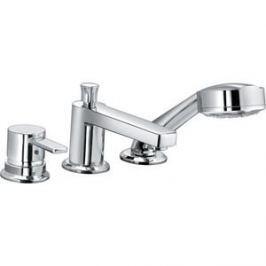 Смеситель для ванны Kludi на 3 отверстия излив 140 мм (384460575)