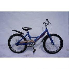 Детский двухколесный велосипед Jaguar MS-A202 Alu синий