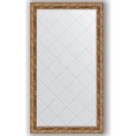 Зеркало с гравировкой поворотное Evoform Exclusive-G 95x170 см, в багетной раме - виньетка античная бронза 85 мм (BY 4402)