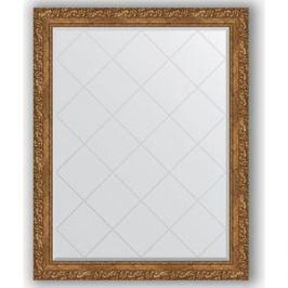 Зеркало с гравировкой поворотное Evoform Exclusive-G 95x120 см, в багетной раме - виньетка бронзовая 85 мм (BY 4357)