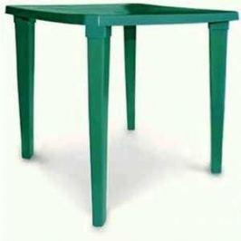 Стол платиковый СтандартПластик квадратный болотный (80*80 130-0019)