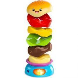 Развивающая игрушка Bright Starts пирамидка Веселый бутерброд (52126)