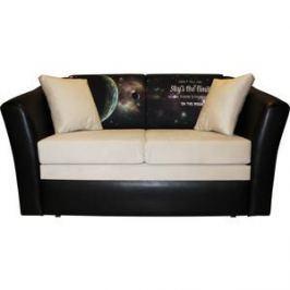Диван ИП Панин Лира - sontex black, Elva bone, 2С Collection Galactic