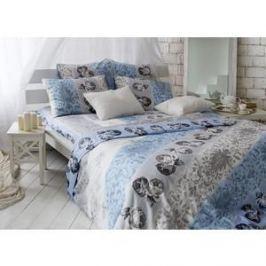 Комплект постельного белья TIFFANY'S secret 2-х сп, сатин, Небесный эскиз n70