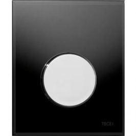 Панель смыва для писсуара TECE TECEloop Urinal (9242663) стекло черное, клавиша нержавеющая сталь