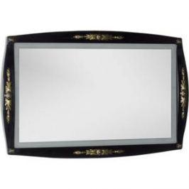 Зеркало Aquanet Виктория 120 черный/золото (183927)