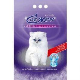 Наполнитель Снежок Цеолайт впитывающий для кошек 4л