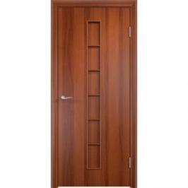 Дверь VERDA Тип С-12(г) глухая 1900х600 МДФ финиш-пленка Итальянский орех
