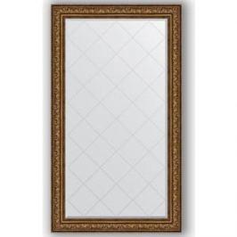 Зеркало с гравировкой поворотное Evoform Exclusive-G 100x175 см, в багетной раме - виньетка состаренная бронза 109 мм (BY 4427)