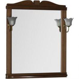 Зеркало Aquanet Николь 80 орех, массив бука (180512)