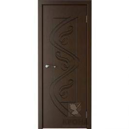 Дверь VERDA Вега глухая фрезерованная 2000х900 шпон Венге