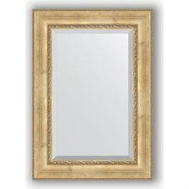 Зеркало с фацетом в багетной раме поворотное Evoform Exclusive 72x102 см, состаренное серебро с орнаментом 120 мм (BY 3454)
