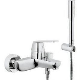 Смеситель для ванны Grohe Eurosmart cosmopolitan с душевым гарнитуром euphoria cosmopolitan (32832000)