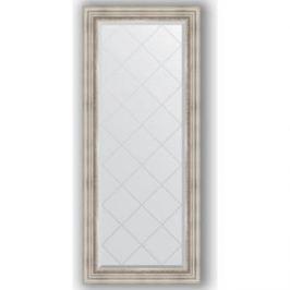 Зеркало с гравировкой поворотное Evoform Exclusive-G 66x156 см, в багетной раме - римское серебро 88 мм (BY 4147)