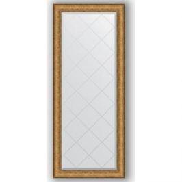Зеркало с гравировкой поворотное Evoform Exclusive-G 64x153 см, в багетной раме - медный эльдорадо 73 мм (BY 4137)
