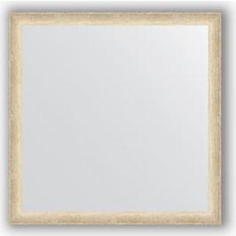 Зеркало в багетной раме Evoform Definite 60x60 см, состаренное серебро 37 мм (BY 0610)