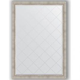 Зеркало с гравировкой поворотное Evoform Exclusive-G 131x186 см, в багетной раме - римское серебро 88 мм (BY 4491)