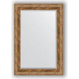 Зеркало с фацетом в багетной раме поворотное Evoform Exclusive 65x95 см, виньетка античная бронза 85 мм (BY 3436)