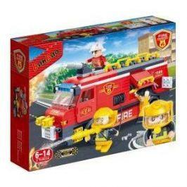 Конструктор Banbao Пожарная машина 288 деталей 33х24х7 см (7103)