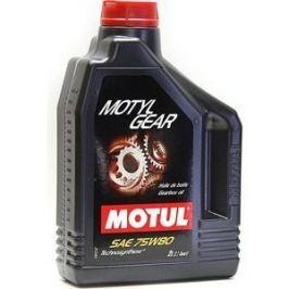 Трансмиссионное масло MOTUL MotylGear 75W-80 2 л