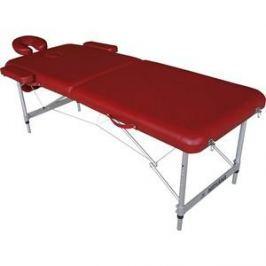Массажный стол DFC Nirvana elegant lux, 186х70х4 cm (алюминиевые ножки, бордовый)