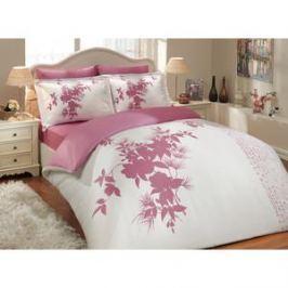 Комплект постельного белья Hobby home collection Семейный, сатин, Estate, фуксия (1501000306)