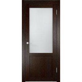Дверь ELDORF Баден-4 остекленная 2000х600 экошпон Дуб темный