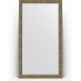 Зеркало напольное с фацетом поворотное Evoform Exclusive Floor 110x200 см, в багетной раме - виньетка античная латунь 85 мм (BY 6155)