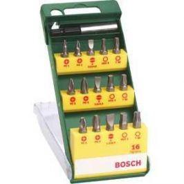 Набор бит Bosch 15шт + держатель (2.607.019.453)