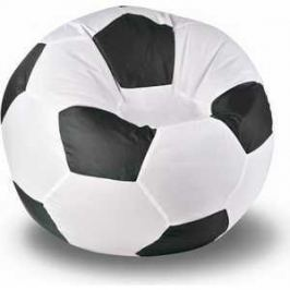 Кресло-мешок Мяч Пазитифчик Бмо8 бело-черный