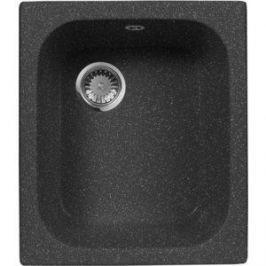 Мойка кухонная AquaGranitEx M-17 420х485 черный (M-17 308)