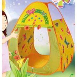 Игровая палатка Ching-Ching Бабочки, 85х85х100см, конус + 100 шаров (CBH-20)