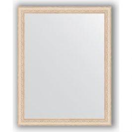 Зеркало в багетной раме поворотное Evoform Definite 74x94 см, беленый дуб 57 мм (BY 1041)