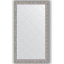 Зеркало с гравировкой поворотное Evoform Exclusive-G 96x171 см, в багетной раме - чеканка серебряная 90 мм (BY 4410)