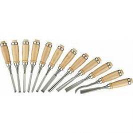 Набор стамесок Stayer 12шт с деревянной ручкой Profi (1835-H12_z01)