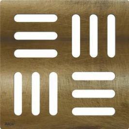 Решетка AlcaPlast Antic бронза 102х102х4 (MPV001-Antic)