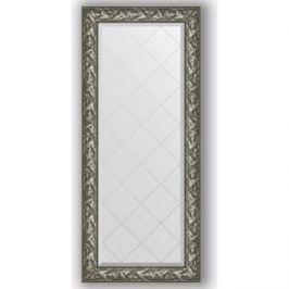 Зеркало с гравировкой поворотное Evoform Exclusive-G 69x158 см, в багетной раме - византия серебро 99 мм (BY 4157)