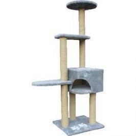 Когтеточка Зооник Комплекс 4-х этажный с лапками для кошек 460 х 760 х 1510см (22047)