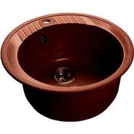 Мойка кухонная GranFest гранит D520 (Gf-R520 красный марс)