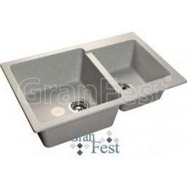 Мойка кухонная GranFest гранит 780x510 (Gf-P780K серая)