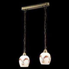 Подвесной светильник Eurosvet 50030/2 античная бронза