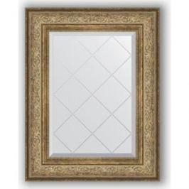 Зеркало с гравировкой поворотное Evoform Exclusive-G 60x78 см, в багетной раме - виньетка античная бронза 109 мм (BY 4038)