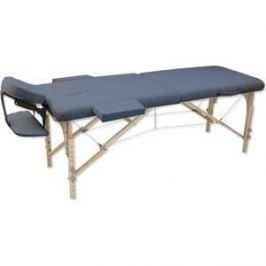Складной массажный стол Winner/Oxygen Wellness EcoLine 50 Agate Blue (синий агат)