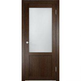 Дверь ELDORF Баден-4 остекленная 2000х700 экошпон Дуб табак