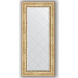Зеркало с гравировкой поворотное Evoform Exclusive-G 72x162 см, в багетной раме - состаренное серебро с орнаментом 120 мм (BY 4170)