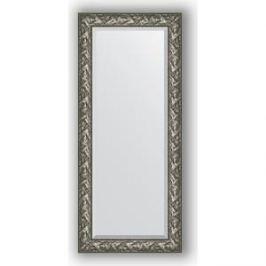 Зеркало с фацетом в багетной раме поворотное Evoform Exclusive 69x159 см, византия серебро 99 мм (BY 3572)