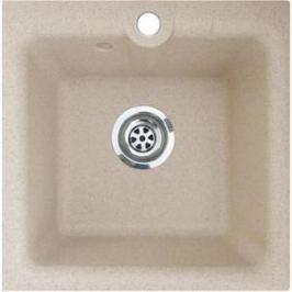 Мойка кухонная GranFest гранит 420x420 (Gf-P420 песок)