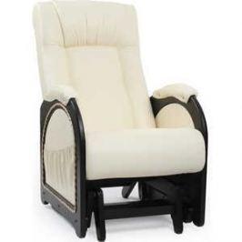 Кресло-качалка Мебель Импэкс МИ Модель 48 каркас венге с лозой, обивка Dundi 112