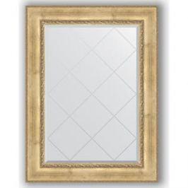 Зеркало с гравировкой поворотное Evoform Exclusive-G 82x110 см, в багетной раме - состаренное серебро с орнаментом 120 мм (BY 4213)